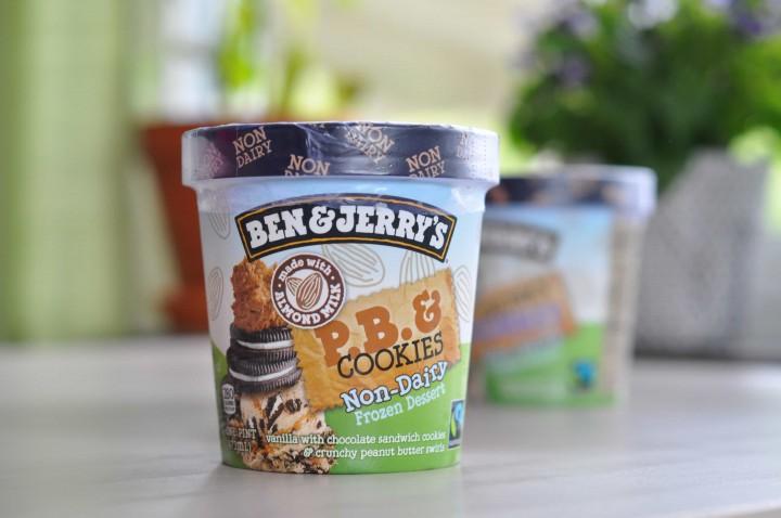 Ben & Jerry's Non-Dairy P.B. & Cookies