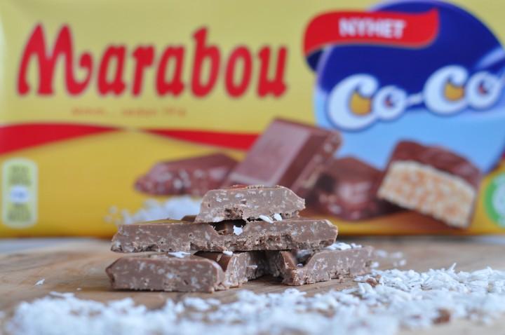 Chokladkaka med kokos