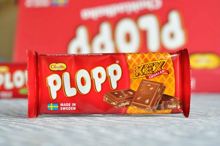 Plopp Mjölkchoklad Kexchoklad