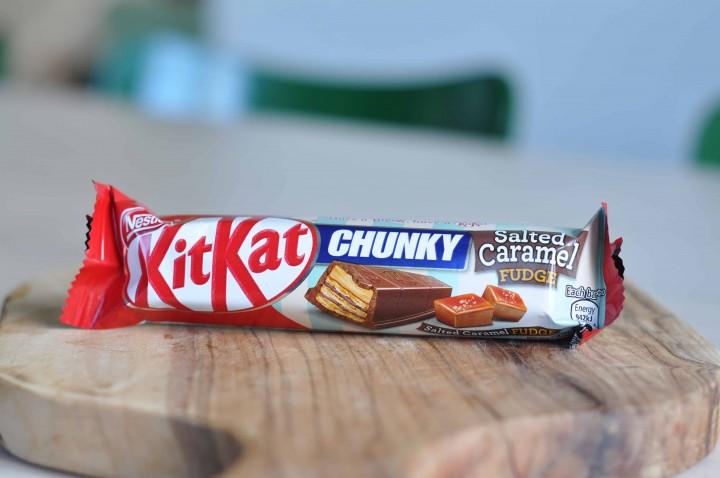 KitKat Chunky Salted Caramel Fudge