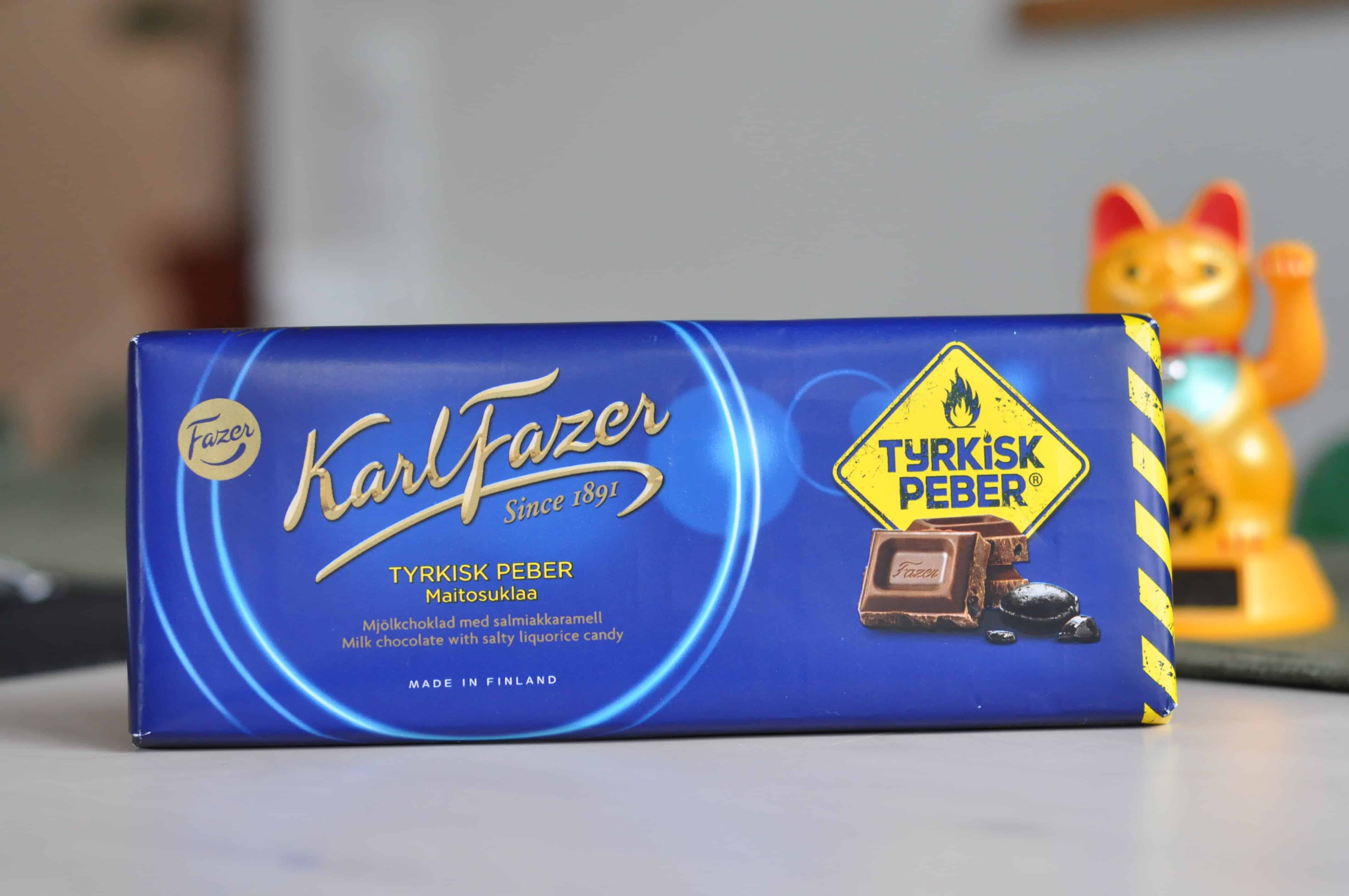 fazer choklad med turkisk peppar