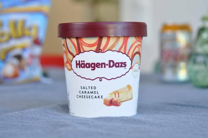 Häagen-Dazs Salted Caramel Cheesecake