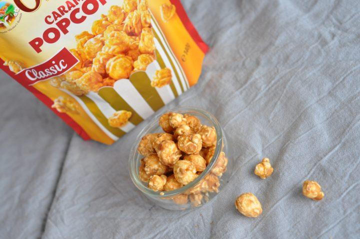 Kanderade popcorn