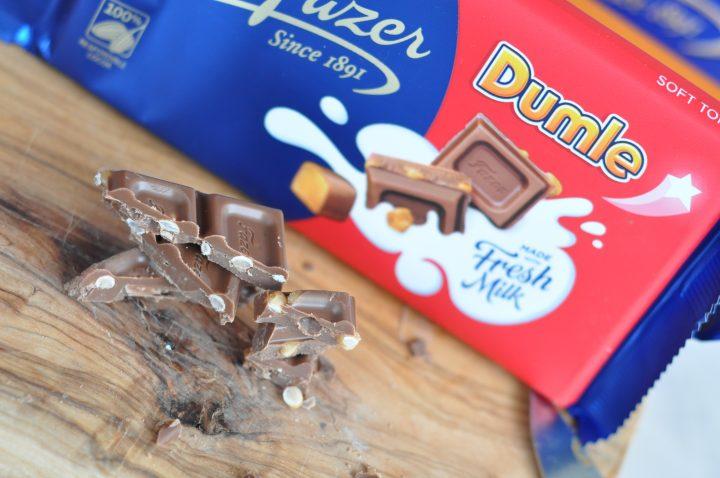 Chokladkaka med dumle