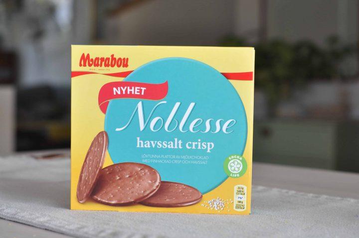 Marabou Noblesse Havssalt Crisp