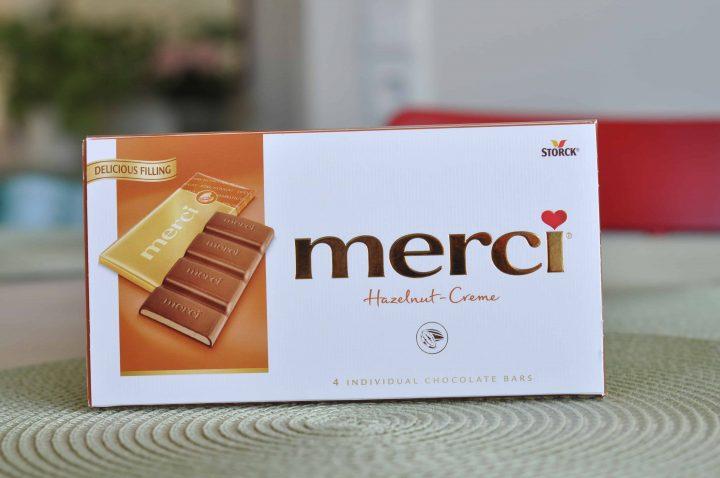 Merci Chokladkaka Hazelnut-Creme