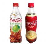 Nyhet: Coca-Cola Clear Lime och Coca-Cola Vanilla Float från Japan