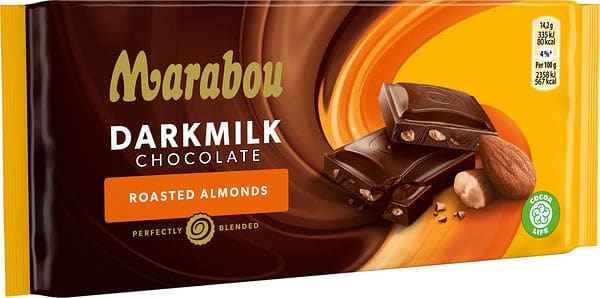 Marabou Darkmilk Roasted Almonfs
