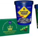 Nyhet: Fazer Gröna Kulor och Tyrkisk Peber som glass