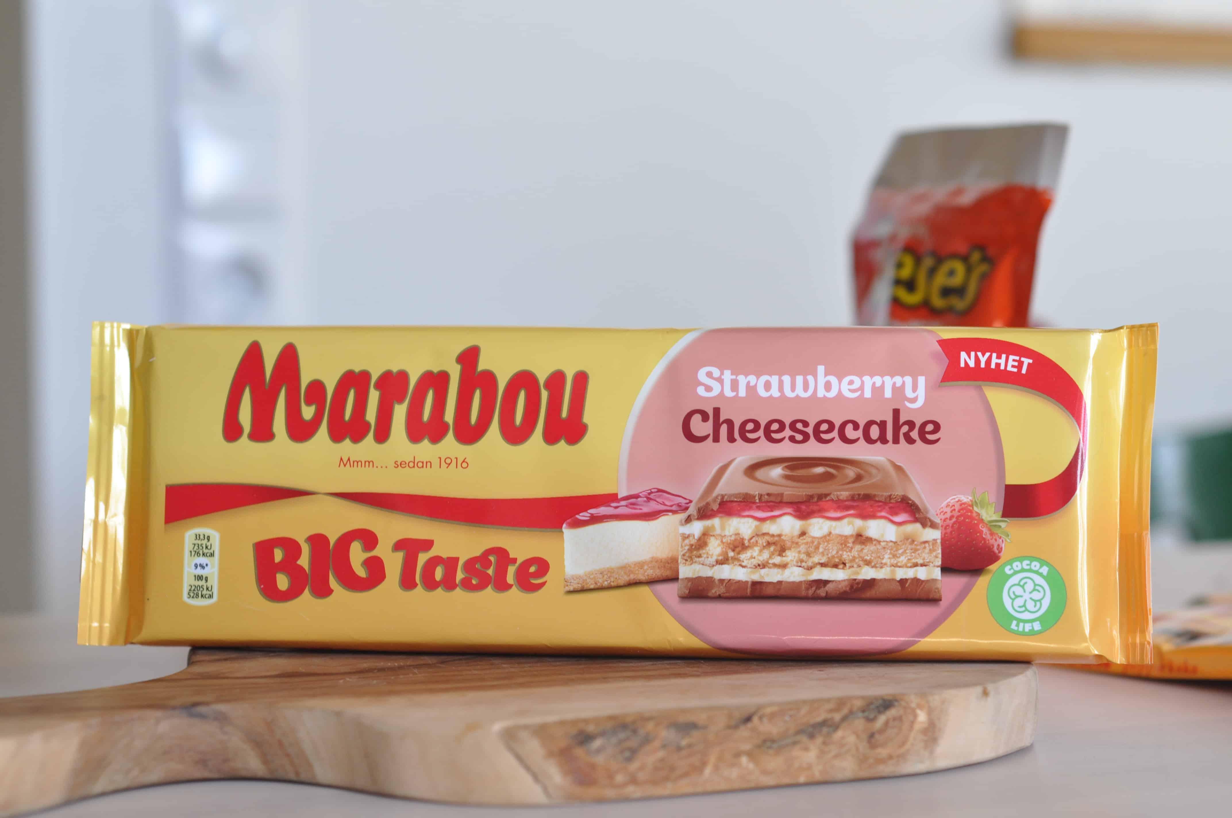 cheesecake marabou mjölkchoklad