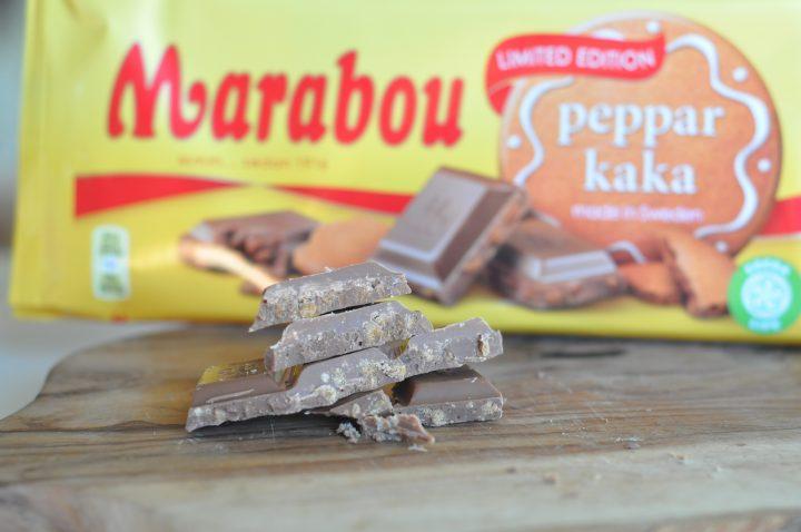 Pepparkaksbitar i choklad