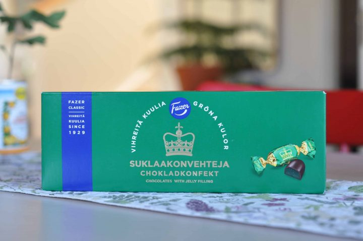 Fazer Gröna Kulor Chokladpraliner