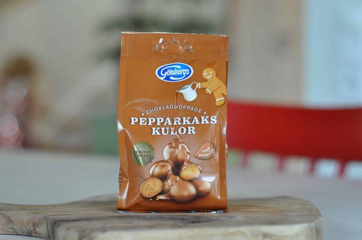 Göteborgs Kex Chokladdoppade Pepparkakskulor