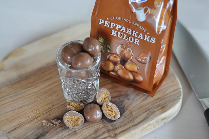 Chokladdoppade Pepparkakskulor