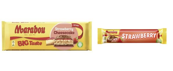 Marabou Big taste strawberry cheesecake