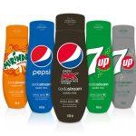 Nyhet: Sodastream Pepsi, 7-Up och Mirinda