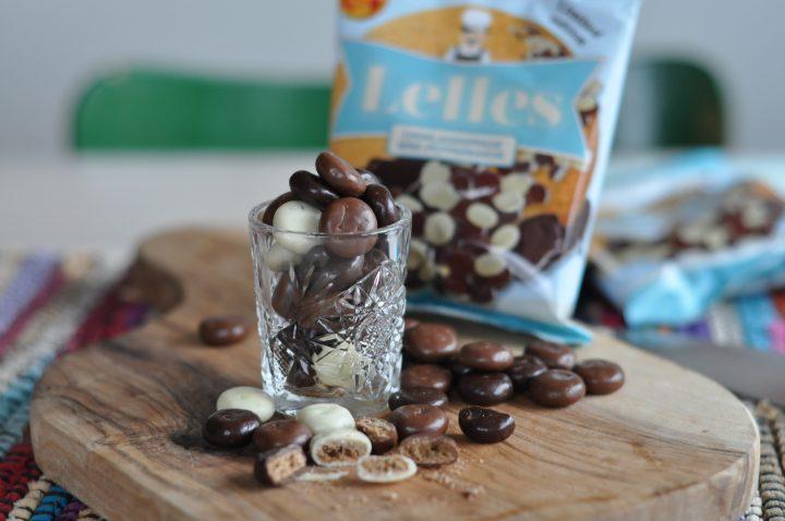 Lelles pepparkakor med choklad
