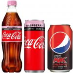 Nyhet: Coca-Cola Zero Raspberry och Pepsi Max Raspberry till Sverige
