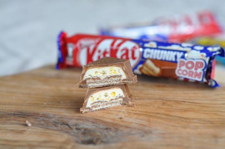 KitKat Chunky med Popcorn