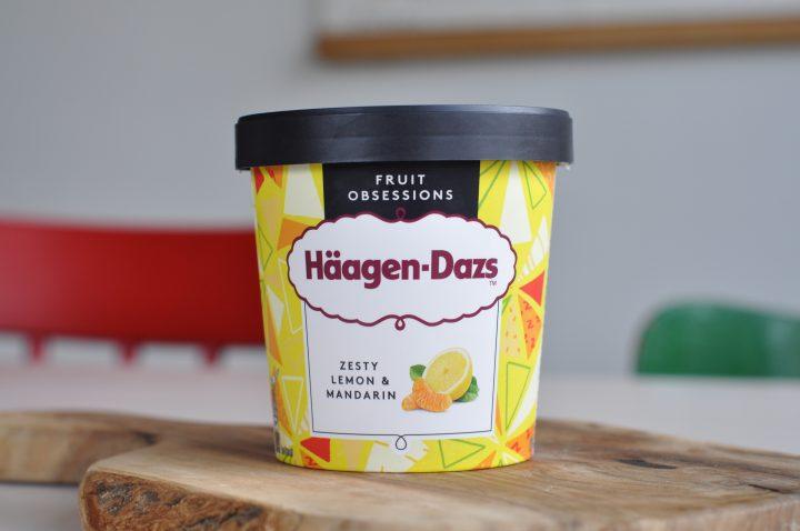 Häagen-Dazs Zesty Lemon & Mandarin