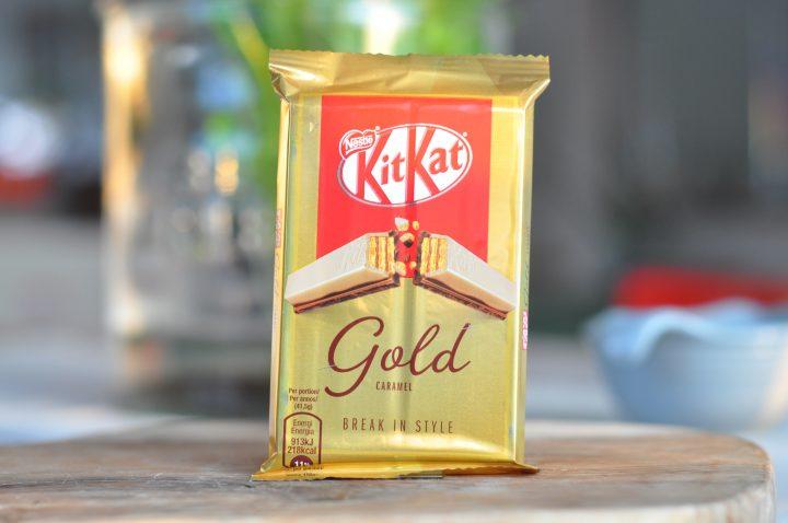 KitKat Gold Caramel