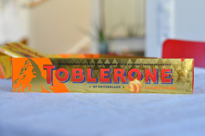 Toblerone Gingery Orange