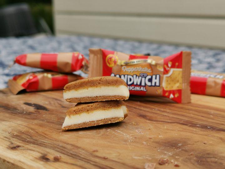 Sandwich Bites med smak av Pepparkaka