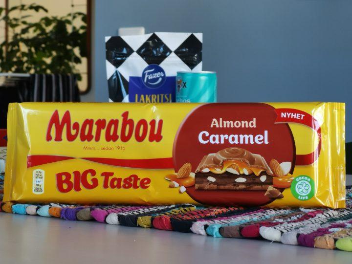 Marabou Big Taste Almond Caramel