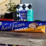 Fazer Crunchy Caramel & Nougat