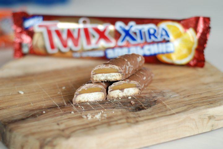 Twix Xtra Orange