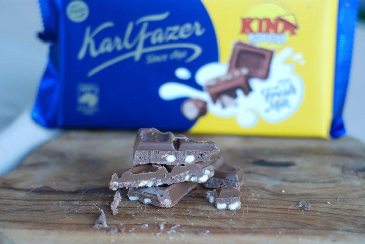 Fazer mjölkchoklad med Kina Rispuffar