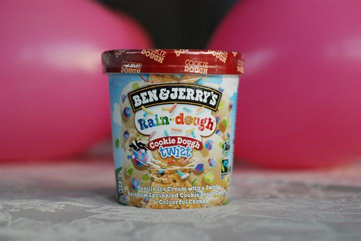 Ben & Jerry's Rain-Dough Cookie Dough Twist