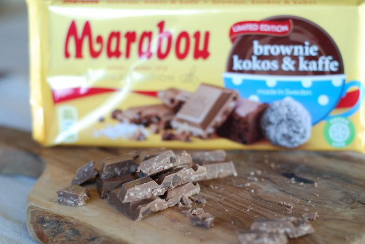 Marabou Brownie Kokos & Kaffe Fredrika's Edition