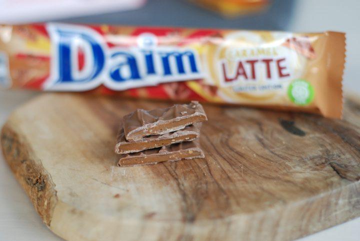 Daim med smak av Caramel Latte