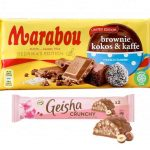 Nyhet: Marabou Brownie Kokos & Kaffe och Geisha Crunchy