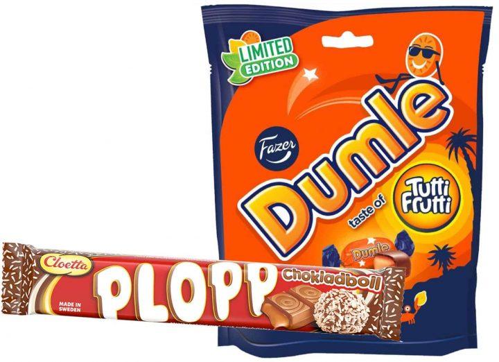 Plopp Chokladboll & Dumle Tutti Frutti