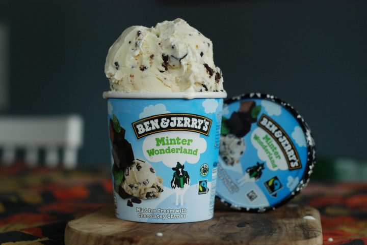 Ben & Jerry's smak Minter Wonderland