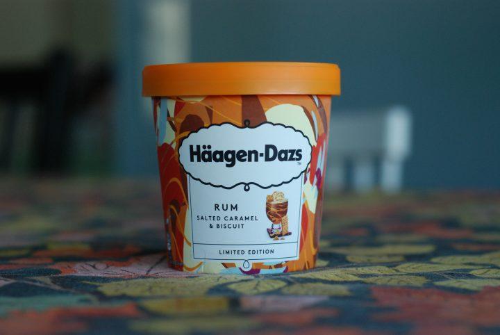 Häagen-Dazs Rum Salted Caramel & Biscuit